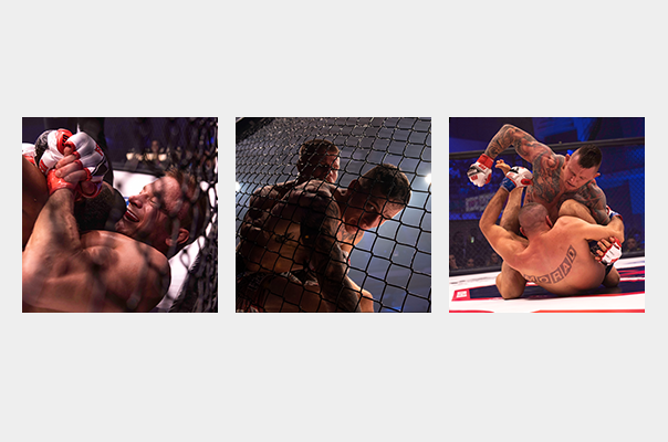 Lakssya réalise des photos de MMA