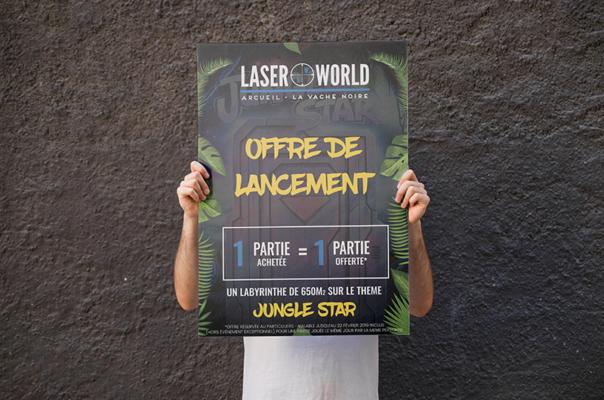 Lakssya crée des affiches et des bannières
