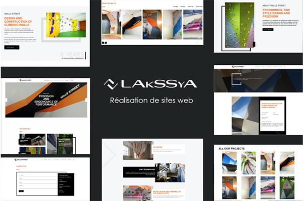 Site www crée par Lakssya - Agence web et e-marketing