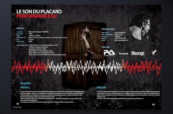 Réalisation des affiches et des bannières pour des artistes et DJ