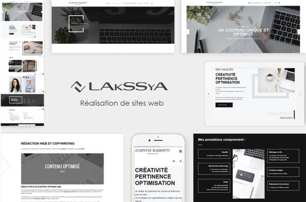 Site web réalisé par Lakssya - Agence web et e-marketing